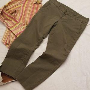J. Crew Andie cropped pants